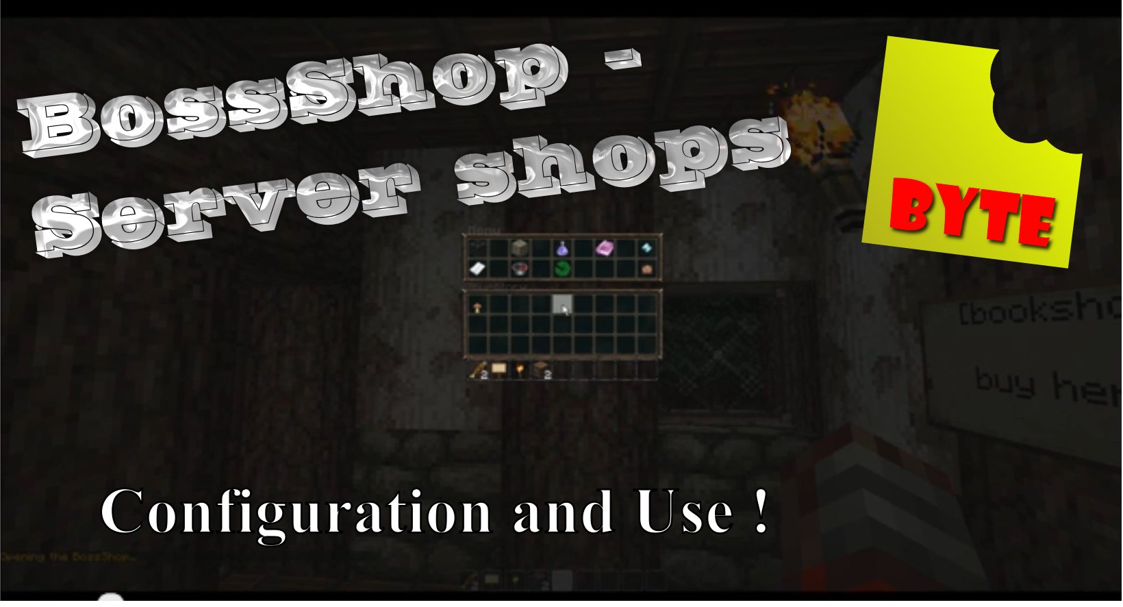 BossShop Server shops